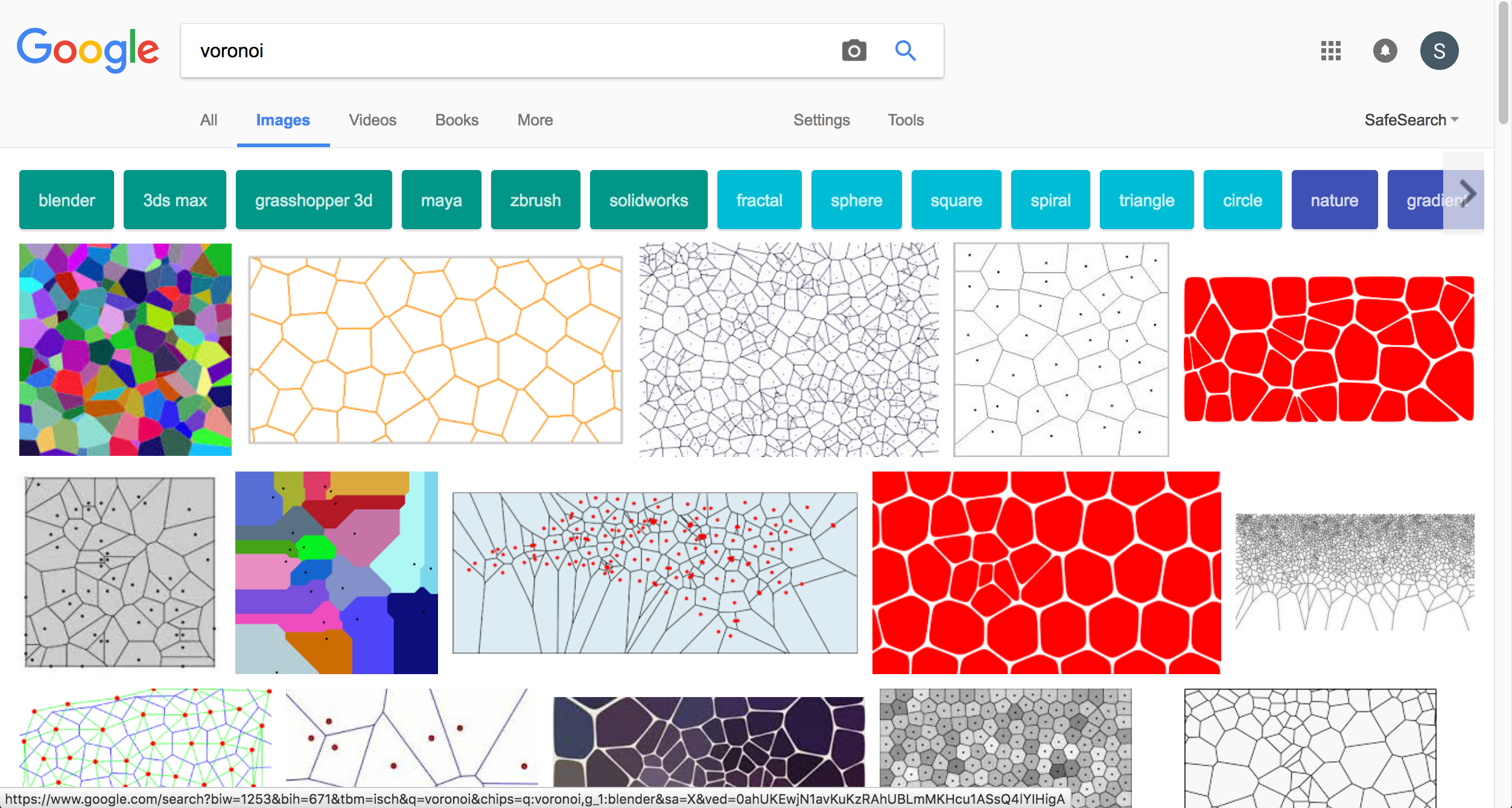 "Google image search results for ""voronoi"""